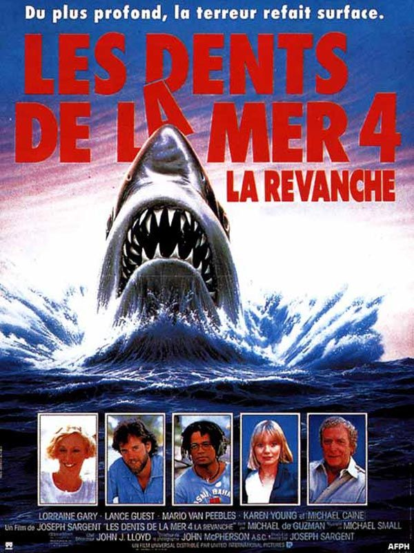Les Dents de la mer 4 : La Revanche FRENCH HDLight 1080p 1987