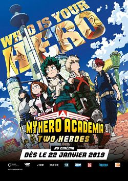 My Hero Academia : Two Heroes FRENCH BluRay 720p 2019