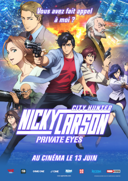 Nicky Larson Private Eyes FRENCH BluRay 720p 2019