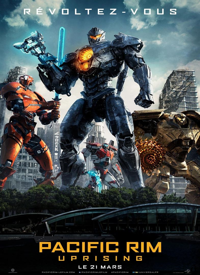 Pacific Rim : Uprising FRENCH DVDSCR 2018