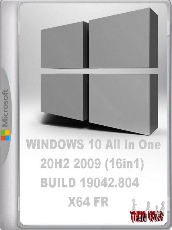 WINDOWS 10 All In One 20H2 2009 (16in1) BUILD 19042.804 X64